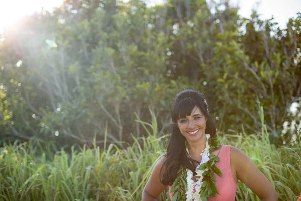 Alisa Tongg Celebrant. Kaua Photography