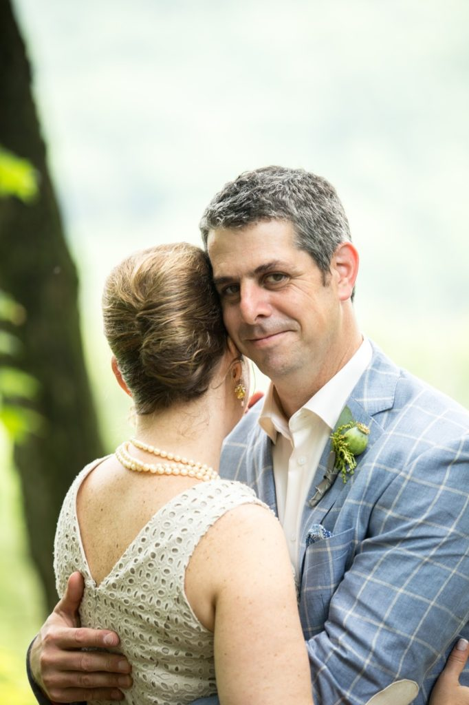 Heather and Nathan Alisa Tongg Celebrant Family Vow Renewal at The Living Wall at Promise Ridge Jeremie Barlow Photography