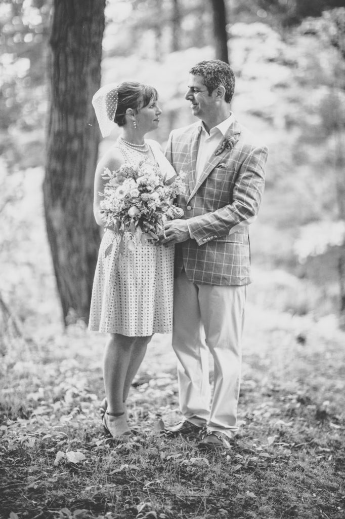 Heather and Nathan portrait Alisa Tongg Celebrant Family Vow Renewal at The Living Wall at Promise Ridge Jeremie Barlow Photography