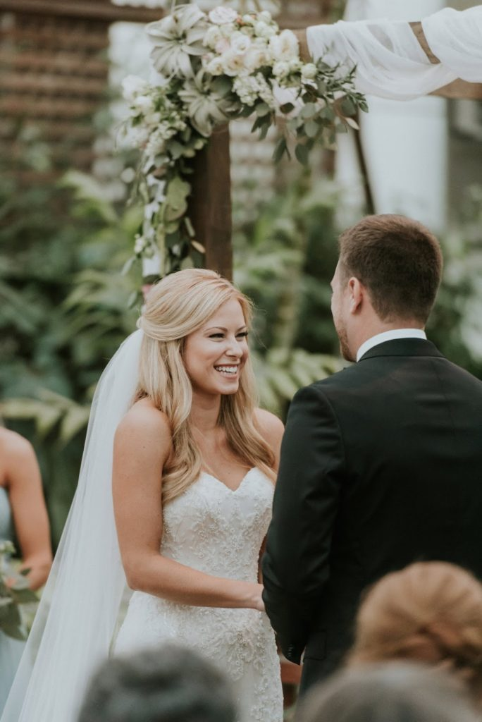 beaming colleen alisa tongg celebrant horticultural center wedding m2 photography