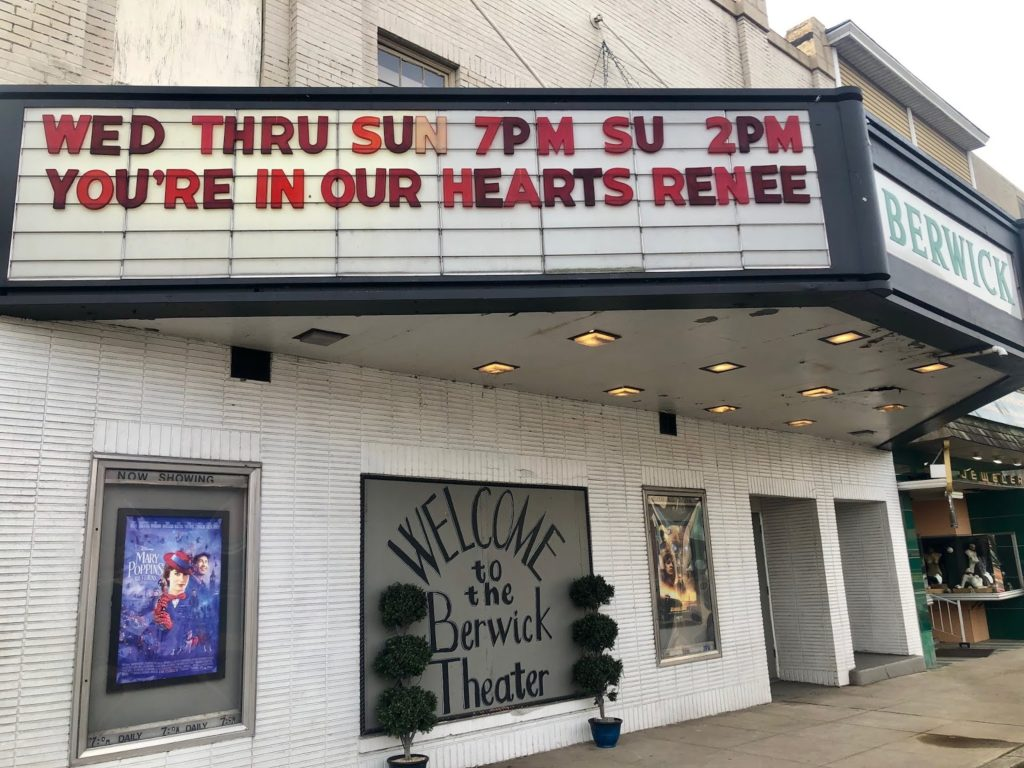 berwick theater celebration of life renne bower