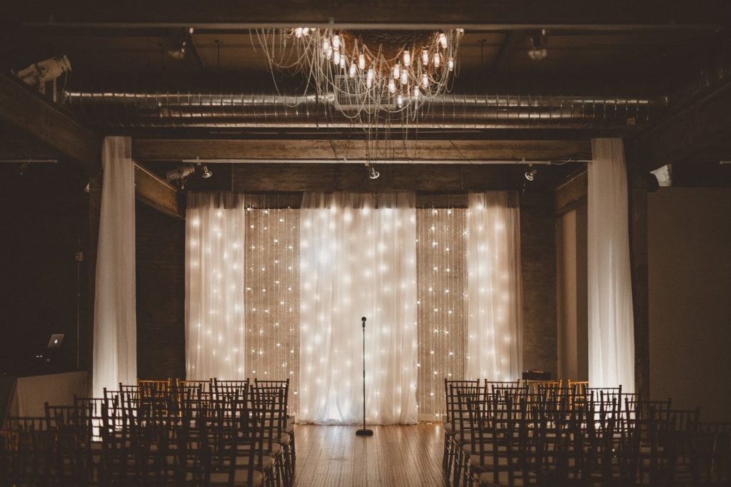 ceremony space Alisa Tongg Celebrant Front Palmer wedding Pat Robinson Photography
