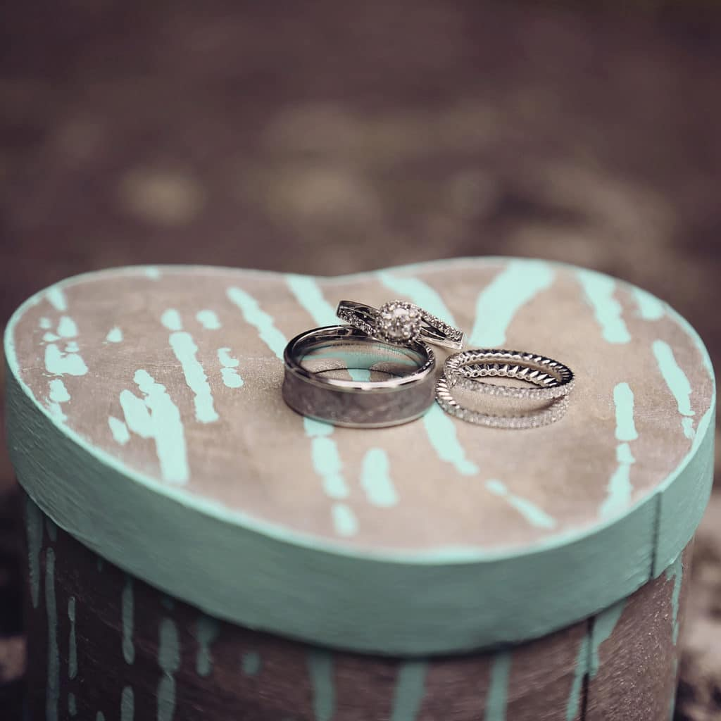 christian and miachel rings alisa tongg celebrant kindered souls photography