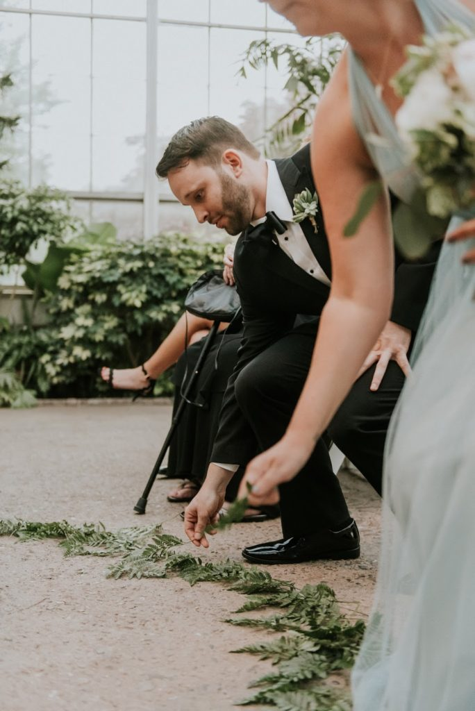 circle of love alisa tongg celebrant horticultural center wedding m2 photography