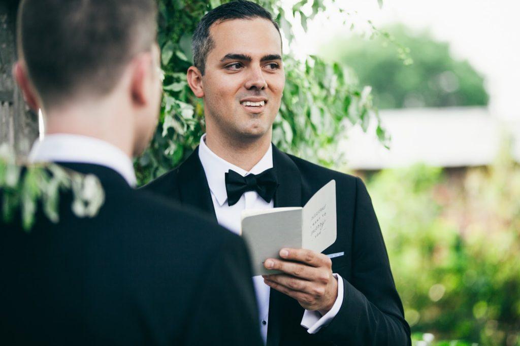 eduardo vows no salmonella alisa tongg celebrant terrain wedding we laugh we love copy