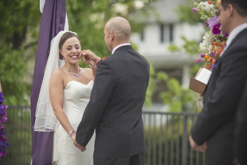 erman wipes a tear from loris face vows alisa tongg celebrant douglas benedict photography copy