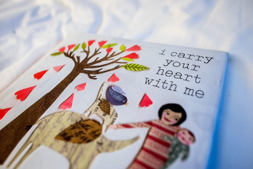 i carry your heart alisa tongg celebrant front palmer werth photography