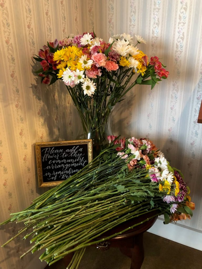 remembrance floral arrangement renee bower