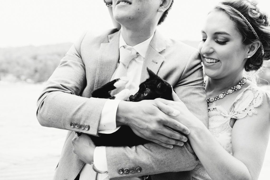 with their kitty alisa tongg celebrant with love and embers photography
